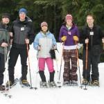 Mastering snowshoeing
