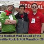 Rock and Roll Marathon team