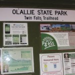 Olallie State Park sign