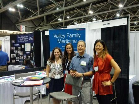 Drs. Parker, Moreno, Pedroza and Fu recruiting new residents for Valley Family Medicine