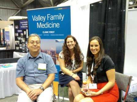 Drs. Pedroza, Parker, Moreno in Kansas City for new resident recruitment