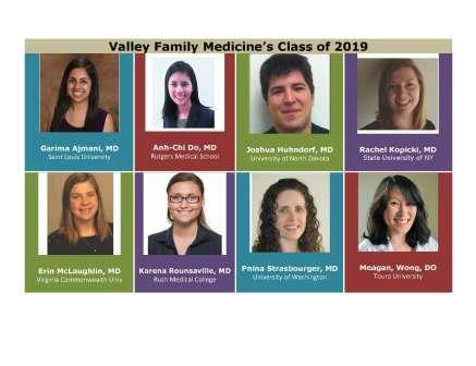 Valley Family Medicine Class of 2019