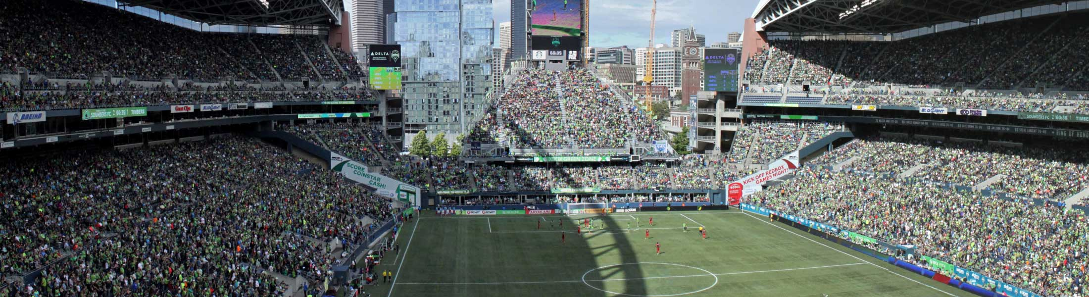Seattle Sounders at Century Link Field
